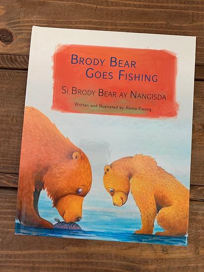 Brody Bear Goes Fishing
