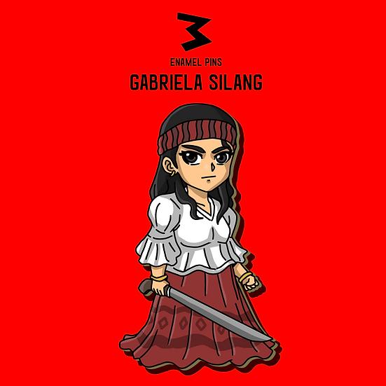 Gabriela Silang - Chibi Pins