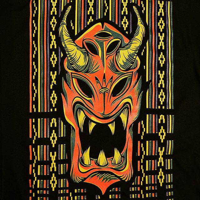 Philippine's Ifugao Tribal Dragon Mask