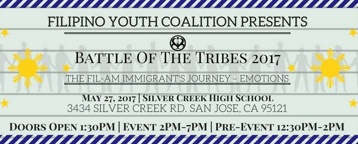 San Jose: Filipino Youth Coalition presents Battle of the Tribes 2017: Emotions