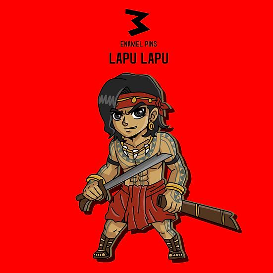 Lapu Lapu - Chibi Pins