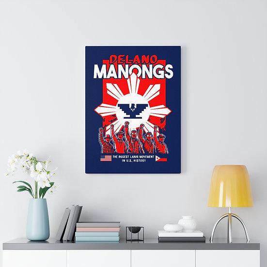 Canvas: Delano Manongs