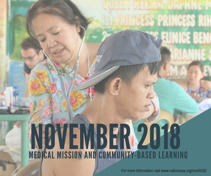 Medical Mission and Community-Based Learning - November 2018