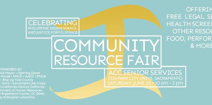 Sacramento: Community Resource Fair for the Filipino Community
