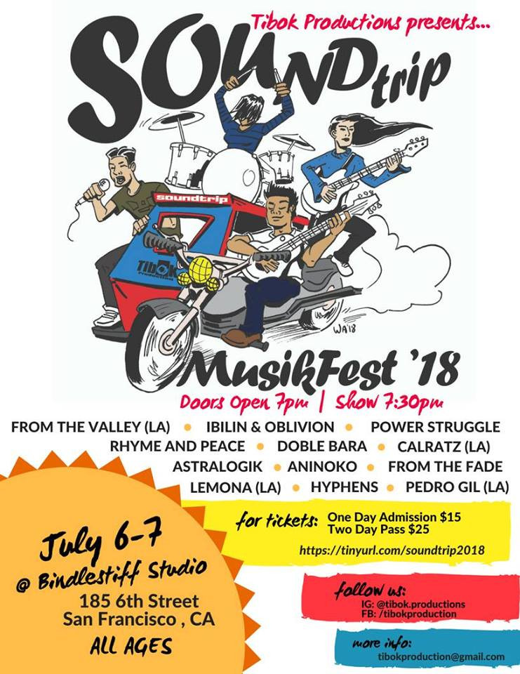 July 6-7: San Francisco: Sound Trip Musik Fest 2018