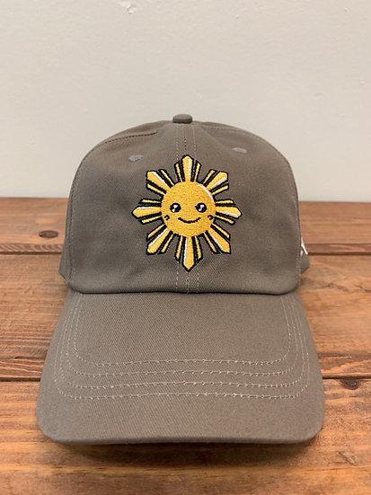 Kawaii Sun Hat Grey