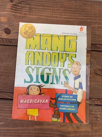 Mang Andoy Signs