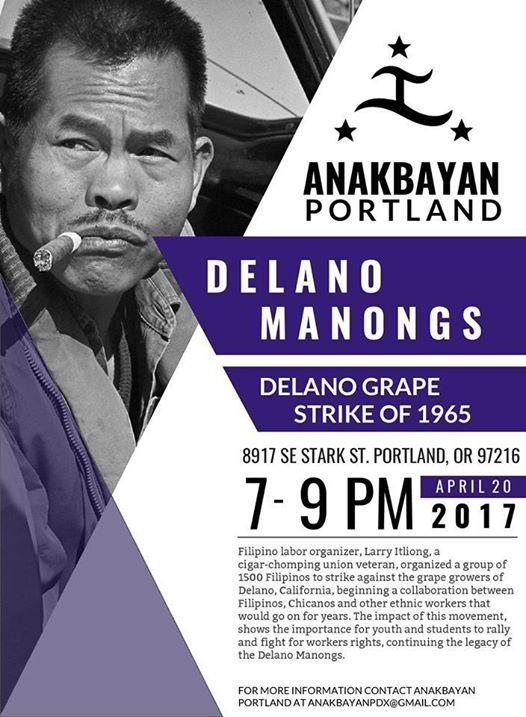 Portland: Delano Manongs: Delano Grape Strike of 1965