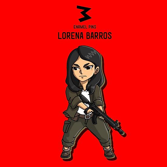 Lorena Barros - Chibi Pins