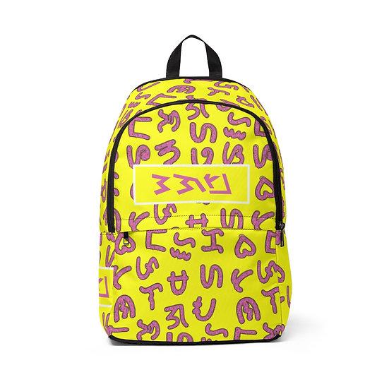 Donut Style Baybayin - Backpack