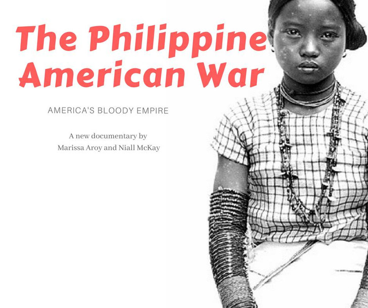 Fundraising for the Philippine American war documentary by Marissa Aroy and Niall McKay