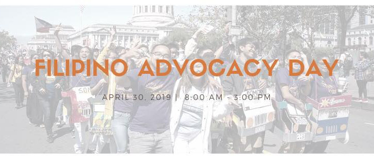 4/30 Sacramento - Filipino Advocacy Day