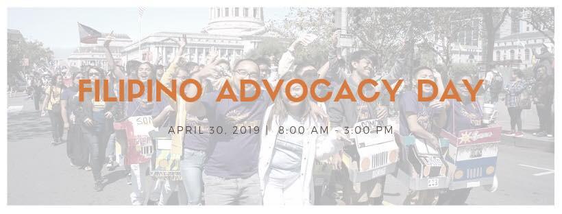 4/30 Sacramento - Filipino Advocacy Day