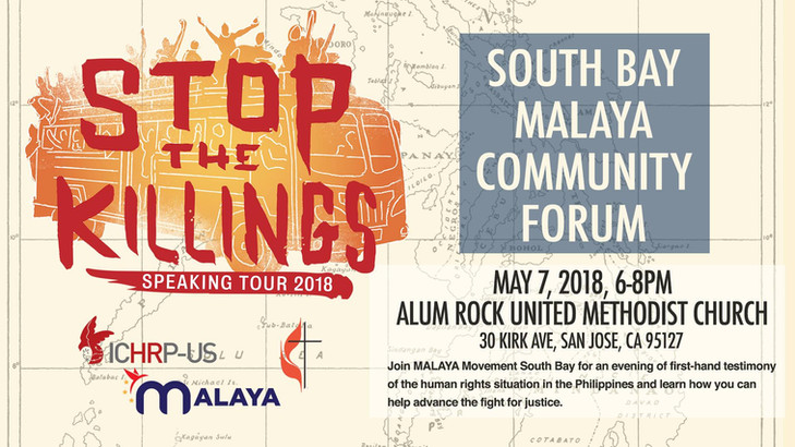 Stop the Killings: South Bay Malaya Community Forum