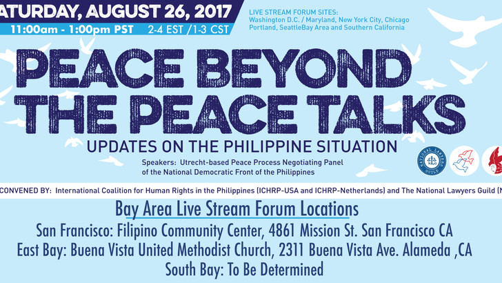 Peace Beyond the Peace Talks: An International Live Stream Forum