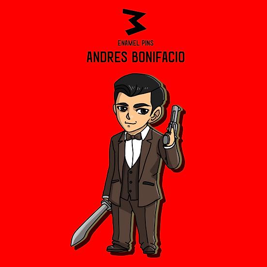 Andres Bonifacio - Chibi Pins
