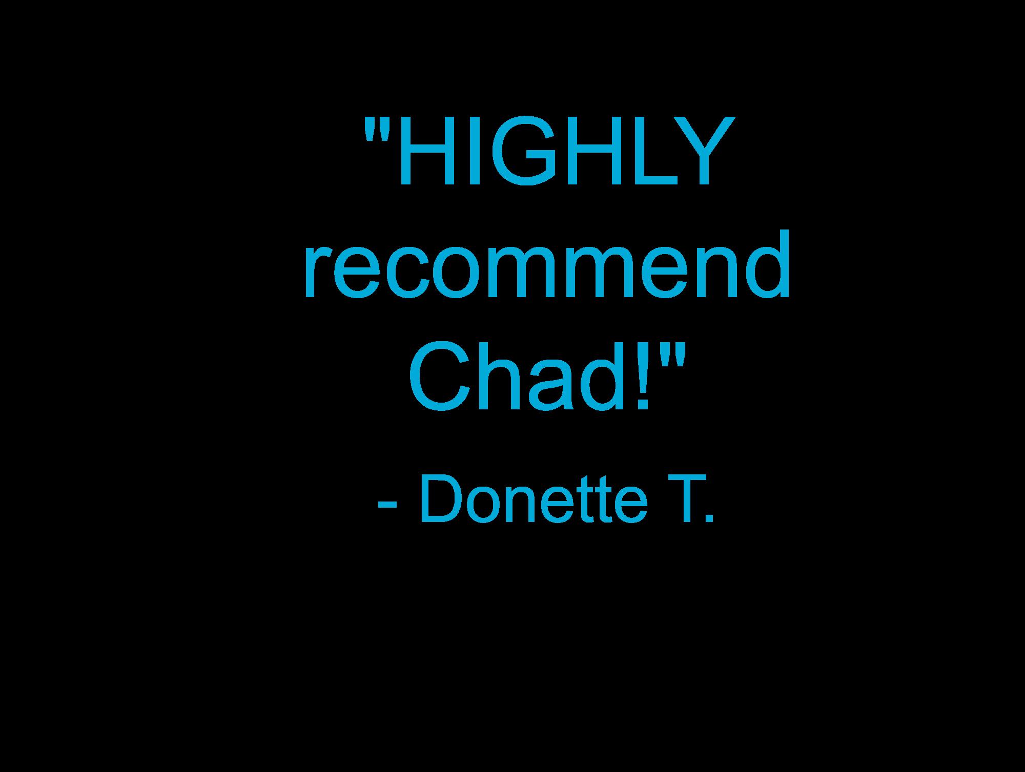 Donette's testimony