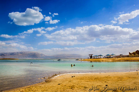 Relax at the Dead Sea