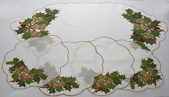 Christmas Leaves and Bells