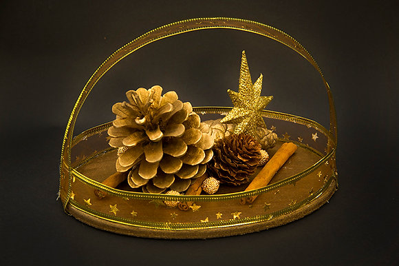 Golden themed Ornament