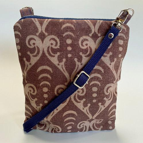 Arcana Sepia Scroll Crossbody Bag