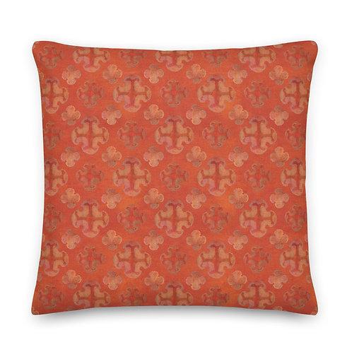 Orange Crush - Premium Pillow
