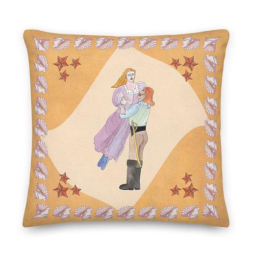 A Leap Beyond Reason - Premium Pillow