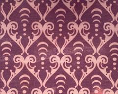 Arcana Scroll pattern in Plum