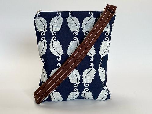 Curly-cue Leaf Crossbody Bag