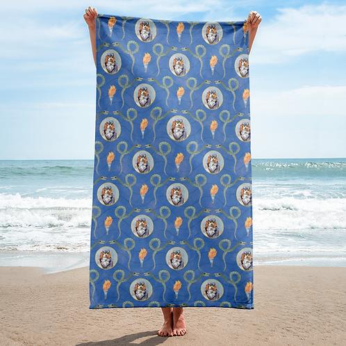 Calico Jack Beach Towel