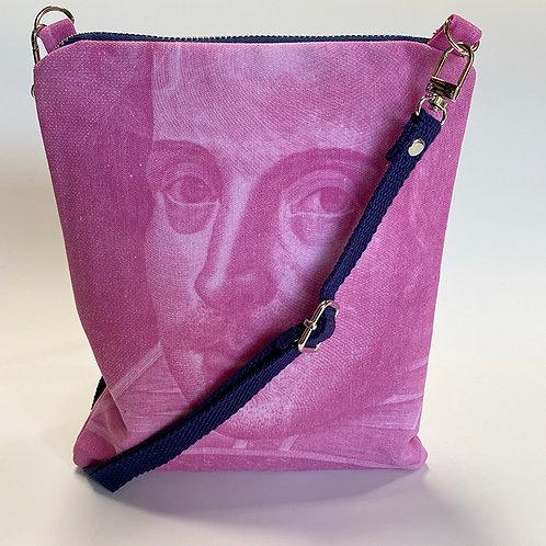 Pink Shakespeare Crossbody Bag