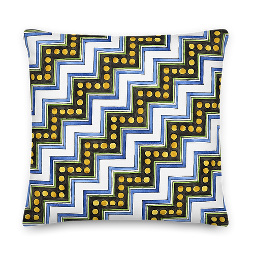 Gabrielle Zig Zag - Premium Pillow