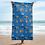 Thumbnail: Celebration on Board Beach Towel - Blue