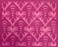 Arcana scroll pattern in Violet