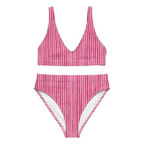 Swashbuckler Stripe - High-waisted bikini