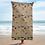 Thumbnail: Celebration on Board Beach Towel - Tan