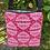 Thumbnail: White Ornamento Pattern on Rose Crossbody Bag