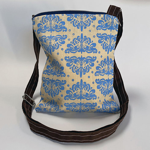 Ornamento Periwinkle Crossbody Bag