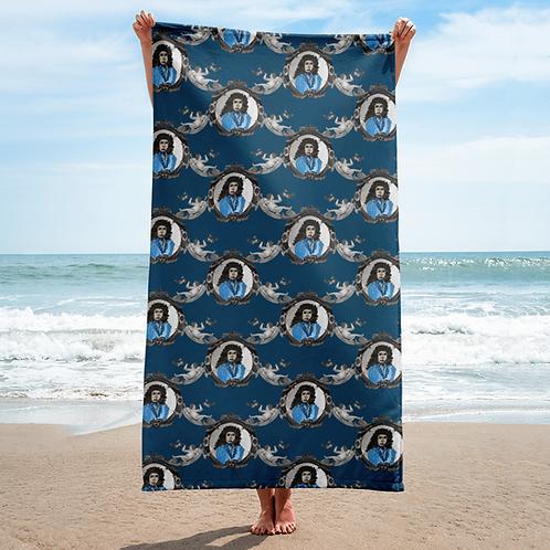 Blue Rogue Beach Towel