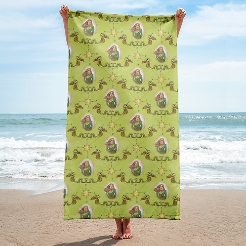 Anne Bonny Beach Towel