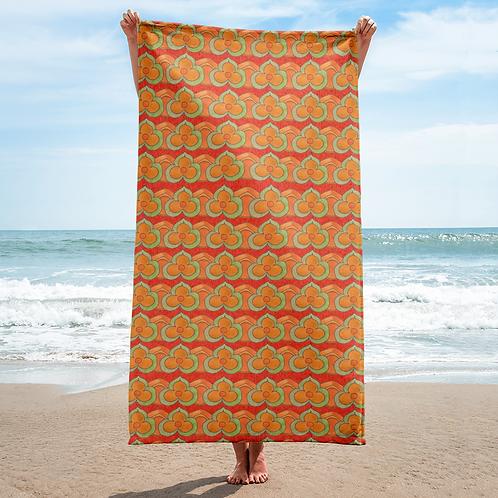 Imperial Jade Beach Towel