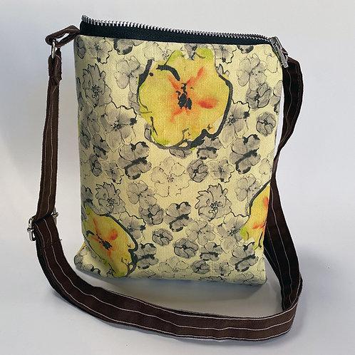 Yellow Blossom Crossbody Bag