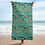 Thumbnail: Celebration on Board Beach Towel - Green