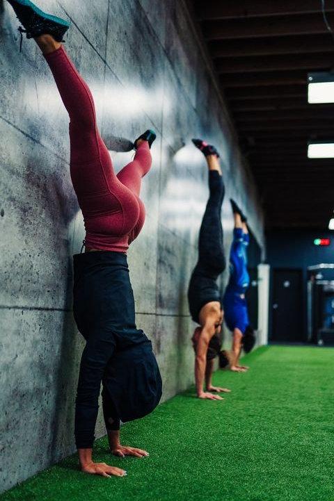 4 Week Handstand Workshop
