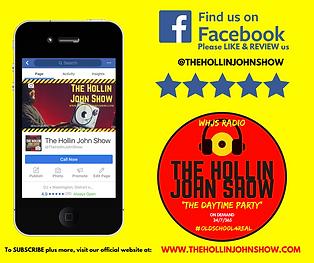 facebook.com/thehollinjohnshow