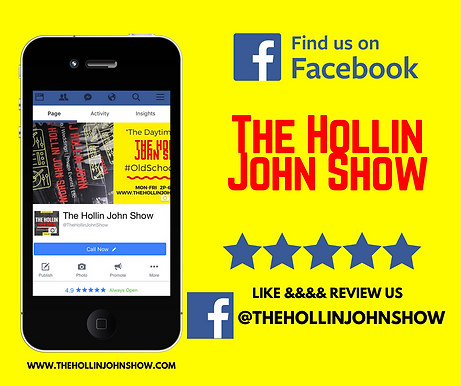 Review The Hollin John Show on Facebook