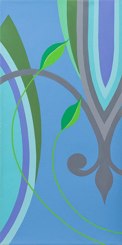 Fleur de Lys (Blues) 20 x 10