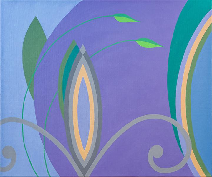 Fleur de Lys (Vista) 20 x 24
