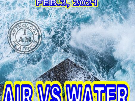 Air vs Water