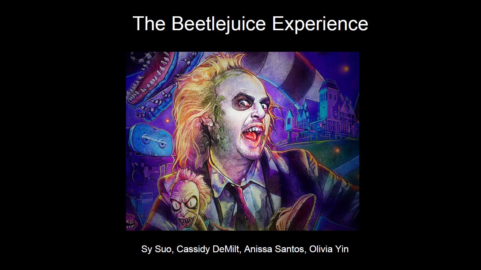 Beetlejuice Experience_Open